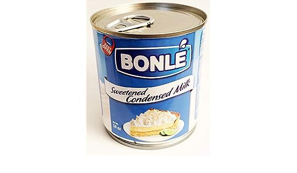 Amazon.com : Bonle Sweetened Condensed Milk 14oz (1 can ...