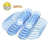 OutTop 20pcs S Size C-Shape Blue Intraoral Cheek Lip Retractor Mouth Opener Dental Tools