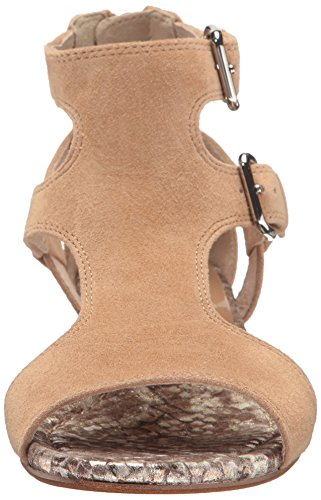 Donald J Pliner Dames Eden-ksks Sleehak Natural Kid Suede