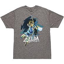 Zelda Breath of The Wild Link Grey Siro Men Tee