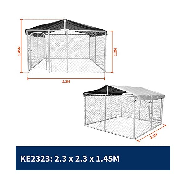 New Pet Dog Kennel Enclosure Playpen Puppy Run Exercise Fence Cage Play Pen A3 Click on image for further info. 4