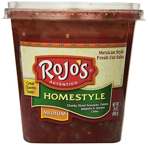 Rojos Medium Salsa Home-style, 24 oz: Amazon.com: Grocery & Gourmet Food