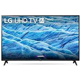 LG 43UM7300PUA Alexa Built-in 43″ 4K Ultra HD Smart LED TV (2019)