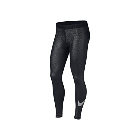 Amazon.com  Nike Women s Pro Cool Metallic Tights  Sports   Outdoors 09c22958e