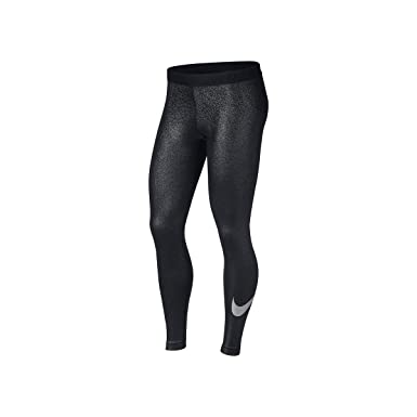 00272a3fb37552 Nike Womens Metallic Dri-Fit Leggings at Amazon Women's Clothing store: