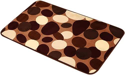Aceshin Soft Square Shape Print Carpet for Sauna