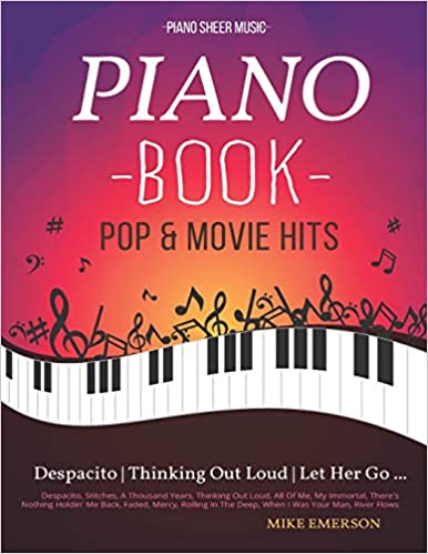 Piano Book Pop Movie Hits Piano Sheet Music Mike Emerson