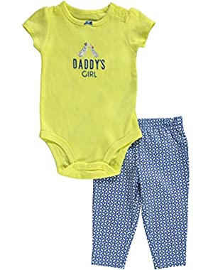 Baby Girls' 2 Piece Layette Set (Baby) - Yellow - 3 Months