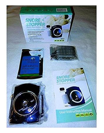 Amazon.com: Brasalete Reloj Anti Ronquido Terapia (dark): Health ...