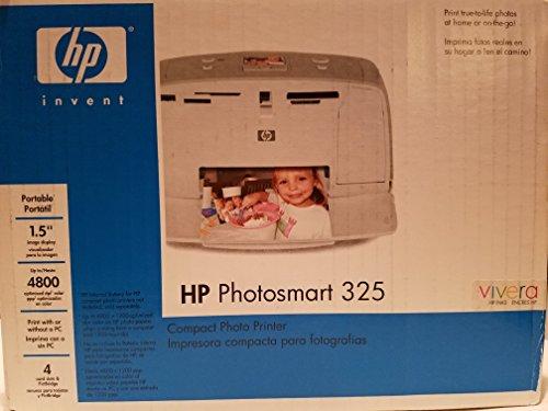 HP PhotoSmart 325 Compact Photo Printer by HP