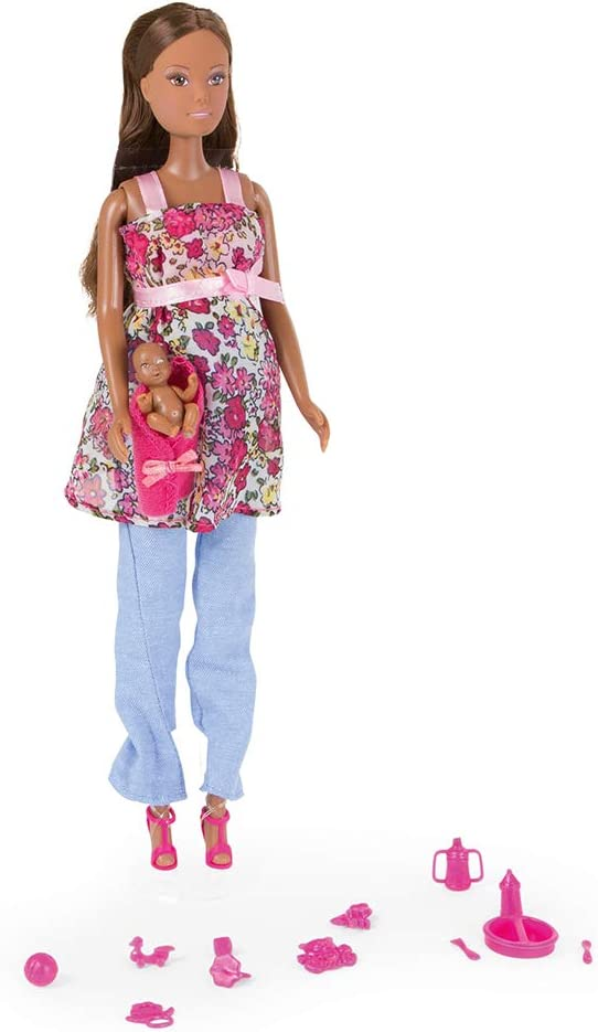 Simba 105734000ETS Pregnancy Doll Multi-Coloured