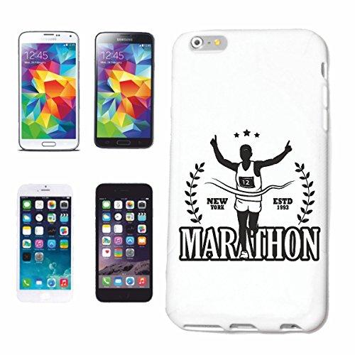 """cas de téléphone iPhone 7 """"MARATHON USA MARATHON RUNNER MARATHON SHIRT MARATHON SEMI-MARATHON SAN DIEGO CALIFORNIA ATHLÉTISME RUNNING MARATHON"""" Hard Case Cover Téléphone Covers Smart Cover pour Apple"""