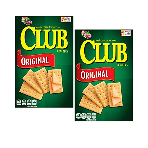 Keebler Club Crackers Original, 13.7 Ounce Box (2 PACK)