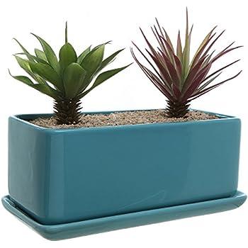 Amazon Com H Potter Succulent Planter Plant Pot