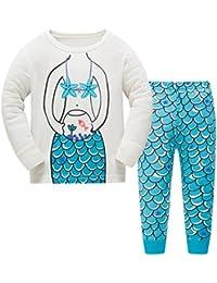 Girls Unicorn Pajamas Set 2-7T