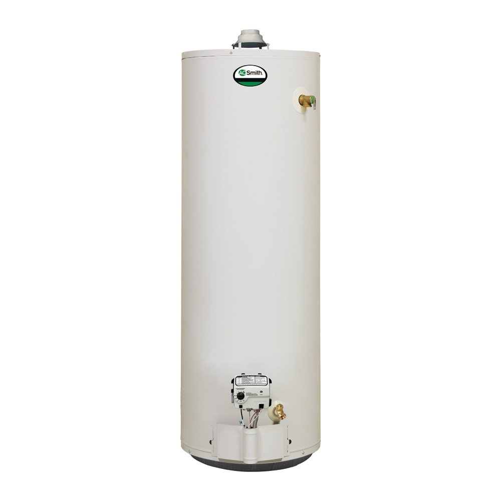 Electric Water Heater 40 Gallon Ao Smith Xgv 40 Residential Natural Gas Water Heater Amazoncom