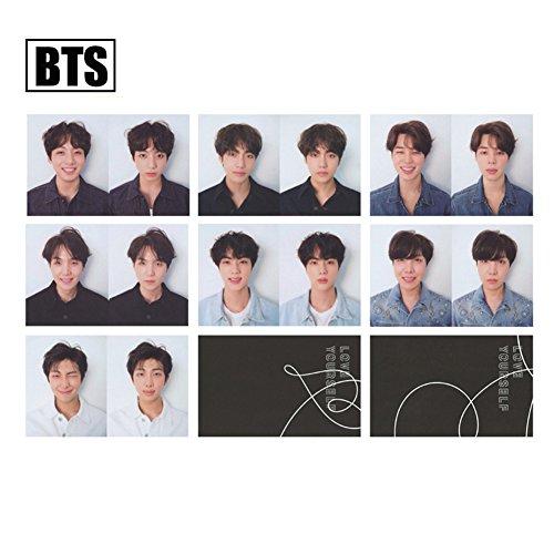 Bosunshine BTS FAKE LOVE LOMO Card Postcard 30PCS/Set Gift for ARMY (R (100% Love Gift Set)