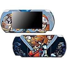 Kingdom Hearts Birth by Sleep 358/2 Sora Mickey Video Game Vinyl Decal Skin Sticker Cover for Sony PSP Playstation Portable Slim 3000 Series System