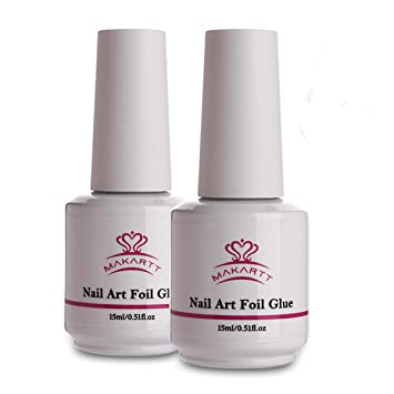 Amazon.com: Makartt - Pegamento de uñas en gel para papel de ...