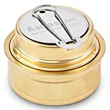 Solo Alcohol Burner - Denatured Alcohol Stove for Backpacking, Camping, Hiking or Use with Solo Stove.