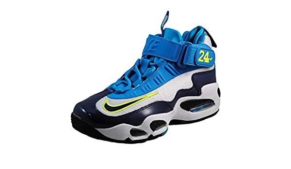 pretty nice 0327d 3a4a4 Amazon.com   Nike Air Griffey Max 1 (Kids) - Pure Platinum   Midnight Navy-Black,  4.5 M US   Basketball