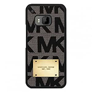 (Mk) Mickhael And Kors Phone funda,Luxury Brand Pattern Htc One M9 Plastic Back funda