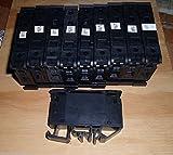 ALLEN BRADLEY 1492-WFB10 SINGLE POLE FUSE BLOCKS, 13/32 X 1-1/2 (USED) LOT OF 10