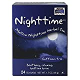 NOW Foods Nighttime Herbal Tea-24 Tea Bags For Sale