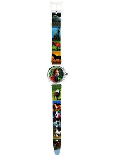 220d6e3ff0 Pacific Time Orologio Bambini Cavallo Orologio da polso orologi ragazza  cavallo Ragazzi e Bambini Bambini Orologi Orologio Bambini orologio da  polso ...