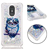 LG Stylo 4 Case, LG Q Stylus Case, LG Stylus 4 Case, UZER Shockproof Series Cute Bling Quicksand Moving Flowing Floating Twinkle Glitter Shining Sparkle TPU Bumper Liquid Case for LG Stylo 4 (2018)