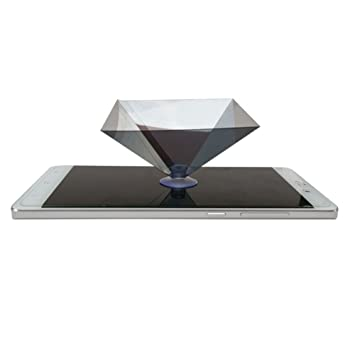 Myfei Hologram Advertise 3D Holo Box, 3D Showcase Pirámide Caja ...