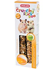 Zolux Crunchy Stick Friandise pour Hamster Pomme/Oeuf 115 g