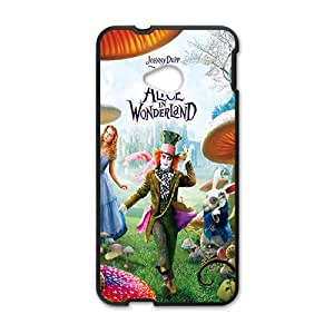 SHEP Alice In Wonderland Case Cover For HTC M7