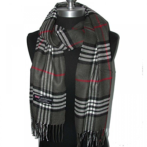 Dark Grey_(US Seller)New Fashion Scarf Scotland Made Warm Wool - - Classics Ansi Sunglasses Gargoyles