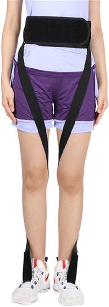 QINAIDI Ortesis Rotatoria de extremidades Inferiores para niños Adultos, Postura de Ocho Patas para ortesis, deformidad de Rodilla
