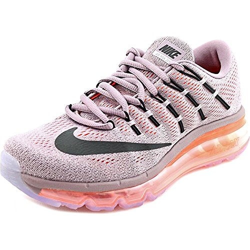 Nike Air Max 2016 Women Round Toe Synthetic Purple Running Shoe, Nero, 42 unknown EU/7.5 unknown UK