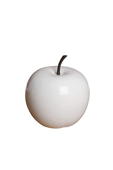 Decoración de Frutas - Figura de manzana de manzana fibra de vidrio ...