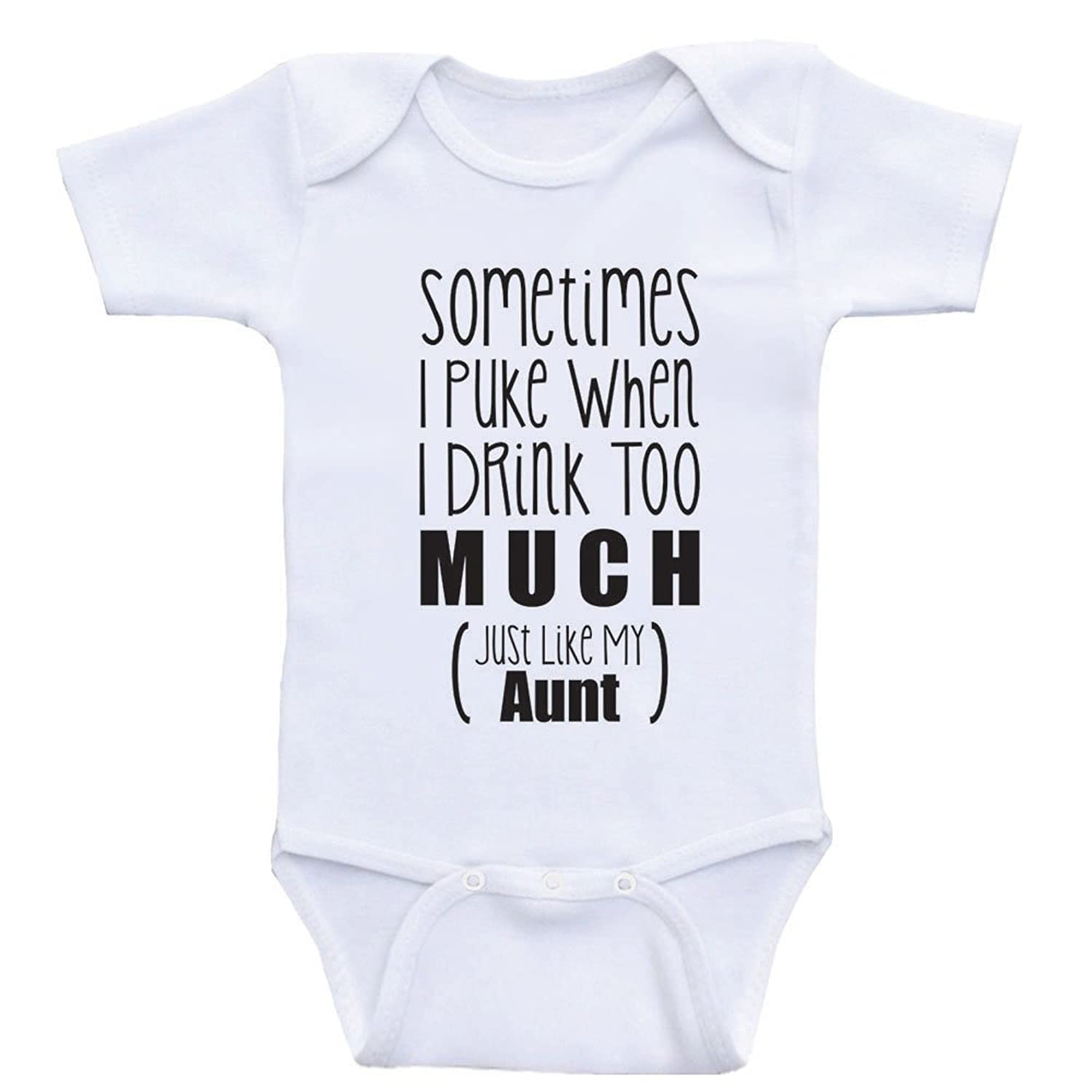 "Amazon Aunt Baby esies ""Just Like My Aunt"" e Piece Baby"