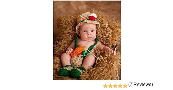 Disfraz de ganchillo de pescador para recién nacido, ideal para ...