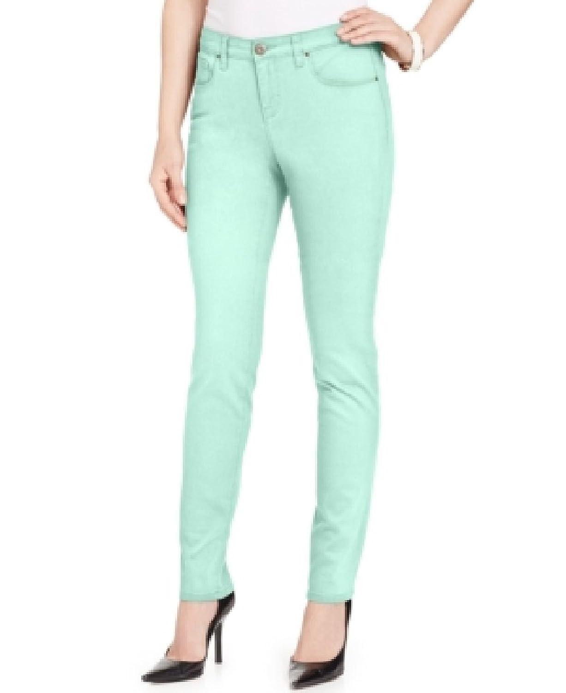 Style & co. Jeans, Skinny-Leg, Colored Wash Mystic Aqua