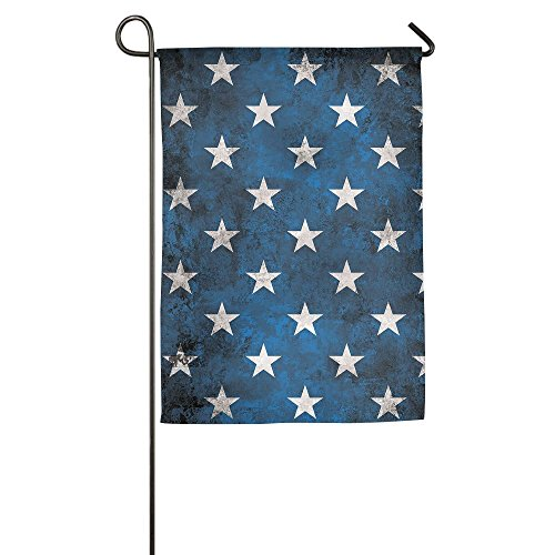 Dark Blue Star Pattern Garden Flag House Banner 1218inch Decorative Flag For Wedding Party Yard Home Indoor Outdoor Holiday Decor (Dallas Stars Halloween Party)