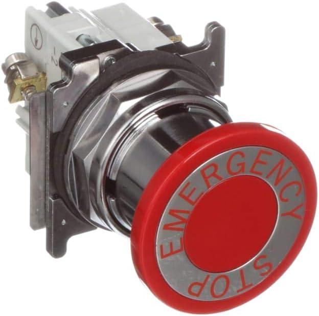 E-Stop; Pushbutton; 40mm; 2-Pos; Push Pull; 1 Lonc
