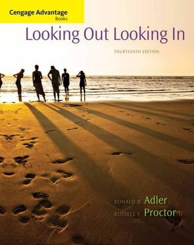 Pdf Relationships Cengage Advantage Books: Looking Out, Looking In, 14th Edition