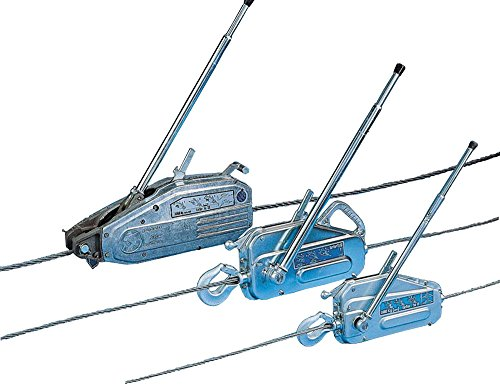 Tractel 849202430K Griphoist TU-17 Wire Rope Hoist with 30