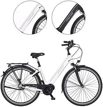 Fischer weiß City Cita 3.1i (2020) -Bicicleta eléctrica (28 ...