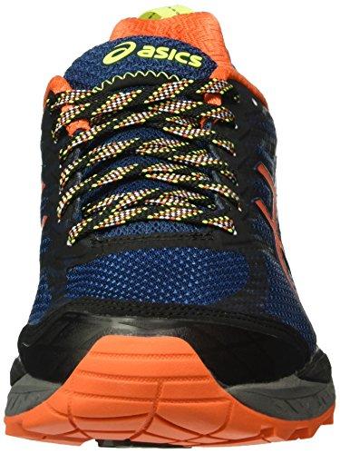 Asics Gel Uomo Yellow Orange poseidon Multicolore fujitrabuco Running 5 Scarpe Da Trail flame safety rrdxAq4w