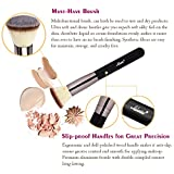 Matto Flat Kabuki Foundation Brush - Flat Top