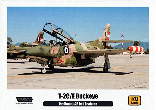 WPD10009 1:72 Wolfpack T-2C T-2E Buckeye 'Hellenic AF Jet Trainer' [MODEL BUILDING KIT]