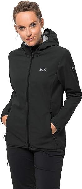 Jack Wolfskin Damen Northern Point Women Atmungsaktiv Wasserabweisend Winddicht Outdoor Funktionsjacke Wanderjacke Softshelljacke