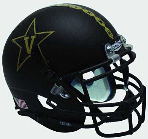 NCAA Vanderbilt Commodores Mini Authentic XP Football Helmet, Gold Anchor Alt. 3, Mini